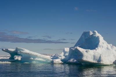 Norway. Svalbard. Hinlopenstretet Strait. Drift Ice-Inger Hogstrom-Photographic Print