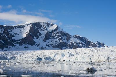 Norway. Svalbard. Hornsund. Burgerbutka. Paier Glacier-Inger Hogstrom-Photographic Print