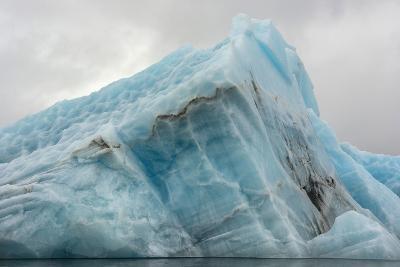 Norway. Svalbard. Spitsbergen. Hornsund. Brepollen. Icebergs Patterns-Inger Hogstrom-Photographic Print