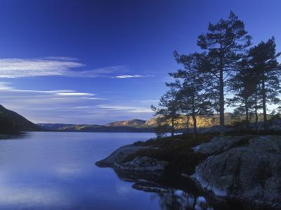 Norway, Telemark, Nisser Lake, Sunrise-Andreas Keil-Photographic Print