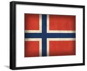 Norway-David Bowman-Framed Giclee Print
