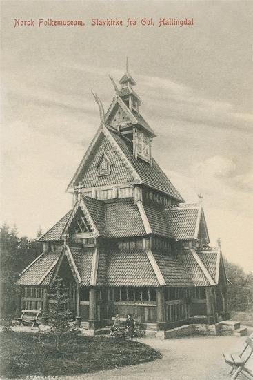 Norwegian Folk Museum--Art Print