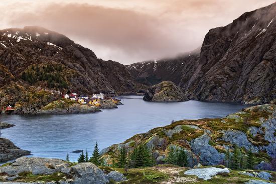 Norwegian Village-Liloni Luca-Photographic Print