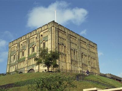 Norwich Castle, Norwich, Norfolk, England, United Kingdom, Europe-Charcrit Boonsom-Photographic Print