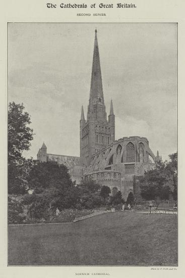Norwich Cathedral--Giclee Print