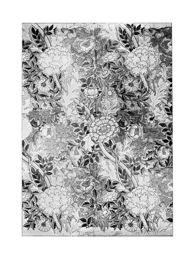 Norwich Pattern Wallpaper, 1889-William Morris-Premium Giclee Print