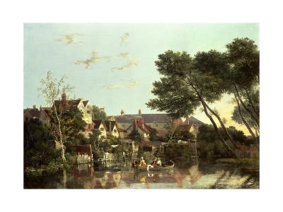 Norwich River, Afternoon, C.1812-19-John Crome-Giclee Print