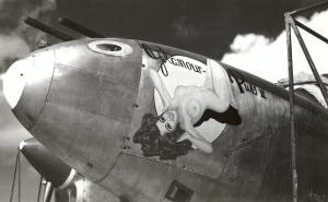 Nose Art, Glamour Puss, Pin-up