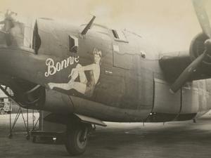Nose Art on a B24 Liberator, c.1945
