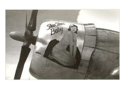Nose Art, Shoo Shoo's Baby, Pin-up--Art Print