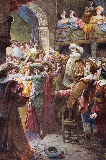Nose Monologue, from Cyrano De Bergerac-Edmond Rostand-Giclee Print