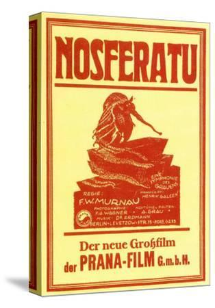 Nosferatu, a Symphony of Horror, German Movie Poster, 1922