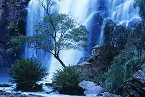 Australia Waterfall in Forest by Nosnibor137