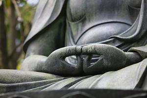 Japan Tokyo Senso-Ji Buddha Hands Close-Up by Nosnibor137