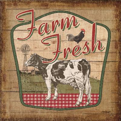 Nostalgic Farm II-Todd Williams-Art Print