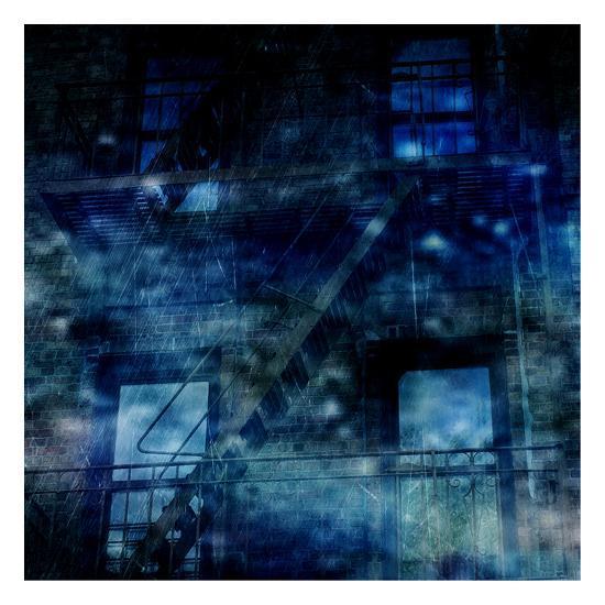 Nostrand Avenue Blues-Sheldon Lewis-Art Print