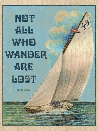 Not all who Wander-Kate Ward Thacker-Giclee Print