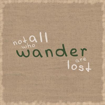 Not All Who Wander-Lauren Gibbons-Premium Giclee Print
