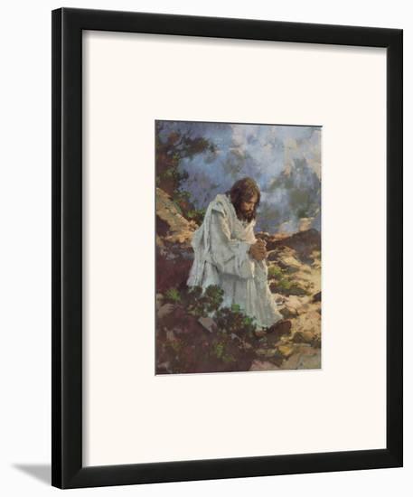 Not By Bread Alone...-Michael Dudash-Framed Art Print