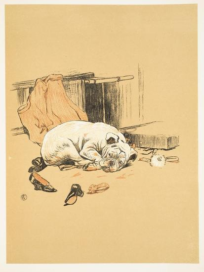 Not Finding the Chocolates, A Gay Dog, Story of a Foolish Year, Aldin, Cecil Charles Windsor-Cecil Aldin-Giclee Print