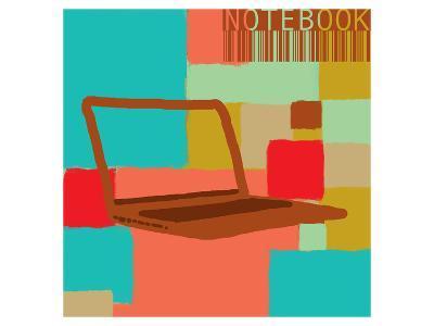 Notebook II-Yashna-Art Print