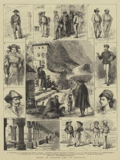 Notes at Palermo and its Environs-Godefroy Durand-Giclee Print