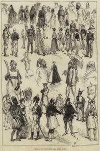 Notes at the Fancy-Dress Ball, Dublin Castle