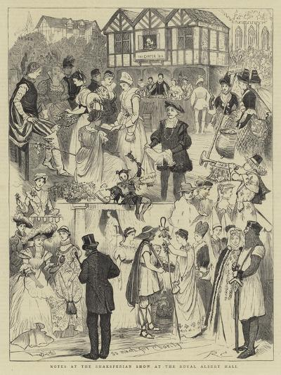 Notes at the Shaksperian Show at the Royal Albert Hall-Randolph Caldecott-Giclee Print