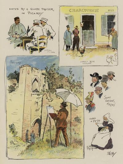 Notes by a Globe Trotter in Picardy-Phil May-Giclee Print
