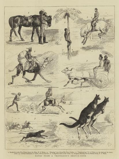 Notes from a Traveller's Sketch-Book-Alfred Chantrey Corbould-Giclee Print