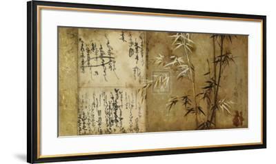 Notes from the Past IV-John Douglas-Framed Art Print