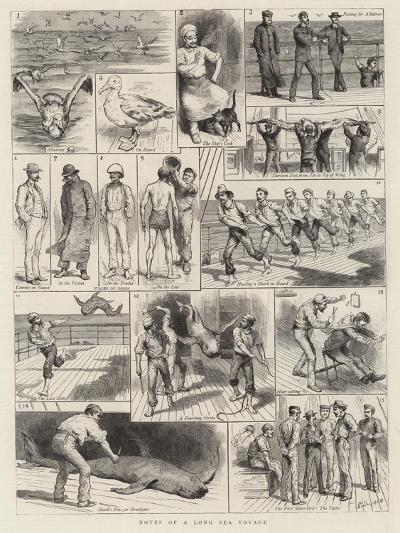 Notes of a Long Sea Voyage-Godefroy Durand-Giclee Print