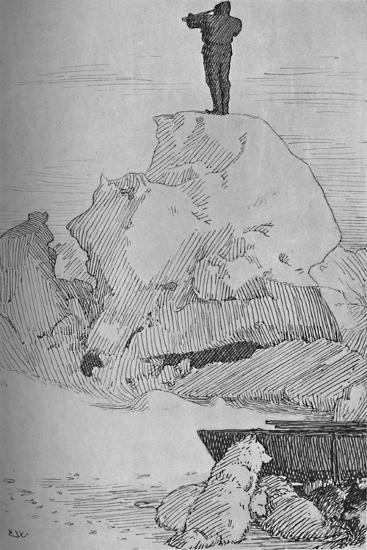 'Nothing But Ice, Ice to the Horizon, 7 April, 1895', (1897)-Unknown-Giclee Print