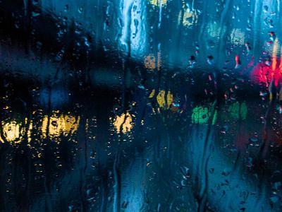 Nothing But Rain-Sharon Wish-Photographic Print