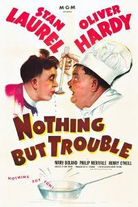 Nothing but Trouble, Stan Laurel, Oliver Hardy, 1944