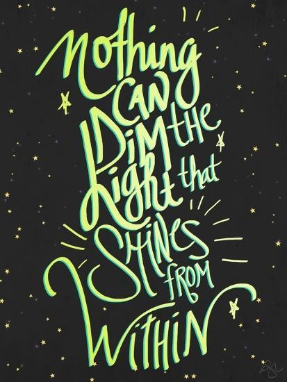Nothing Can Dim the Light-Kimberly Glover-Premium Giclee Print