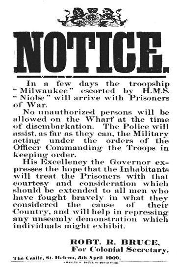 'Notice from Robert R. Bruce: For Colonial Secretary', 1900-Unknown-Giclee Print