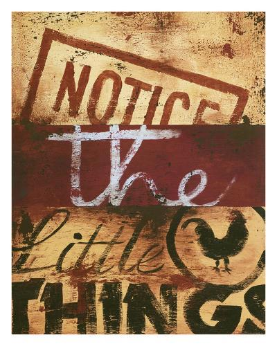 Notice The Little Things-Rodney White-Giclee Print