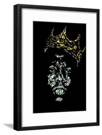 Notorious Big-Cristian Mielu-Framed Art Print