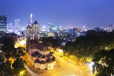 Notre Dame Cathedral, Ho Chi Minh City (Saigon), Vietnam, Indochina, Southeast Asia, Asia-Christian Kober-Photographic Print