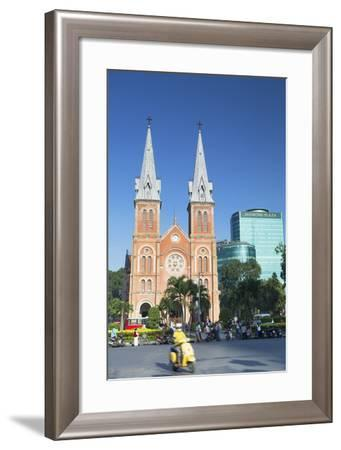 Notre Dame Cathedral, Ho Chi Minh City, Vietnam, Indochina, Southeast Asia, Asia-Ian Trower-Framed Photographic Print
