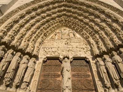 Notre Dame Cathedral, Ile De La Cite, Paris, France-Sergio Pitamitz-Photographic Print