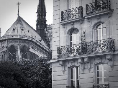 Notre Dame Cathedral, Ile De La Cite, Paris, France-Jon Arnold-Photographic Print