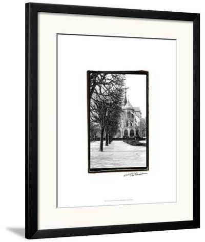 Notre Dame Cathedral IV-Laura Denardo-Framed Giclee Print