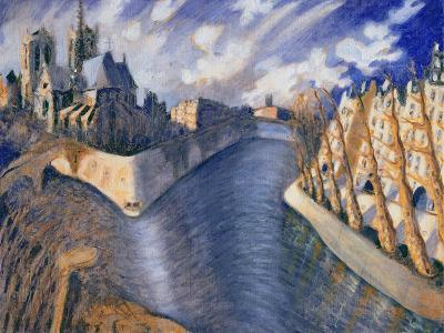 Notre Dame Cathedral, Paris, 1986-Charlotte Johnson Wahl-Giclee Print