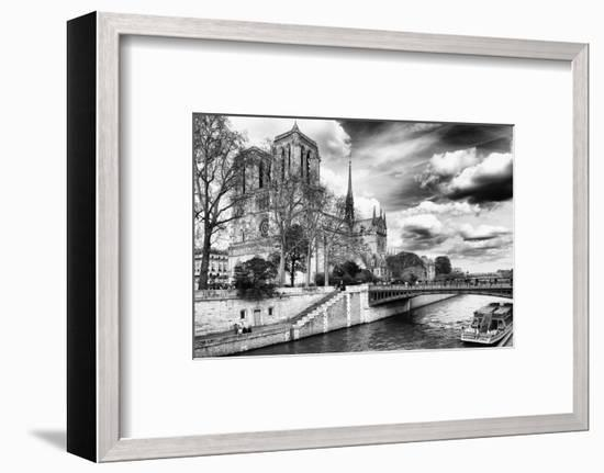 Notre Dame Cathedral - Paris - France-Philippe Hugonnard-Framed Photographic Print