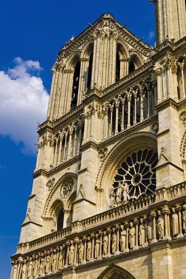 Notre Dame Cathedral, Paris, France-Russ Bishop-Photographic Print