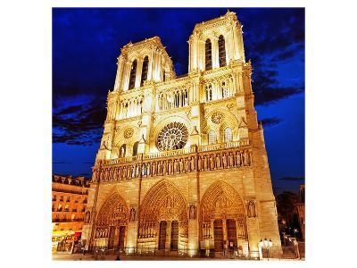 Notre Dame Cathedral Paris--Art Print