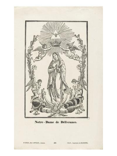 Notre-Dame de Délivrance--Giclee Print