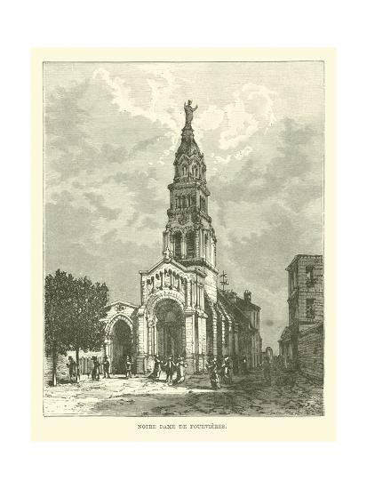 Notre Dame De Fourvieres--Giclee Print